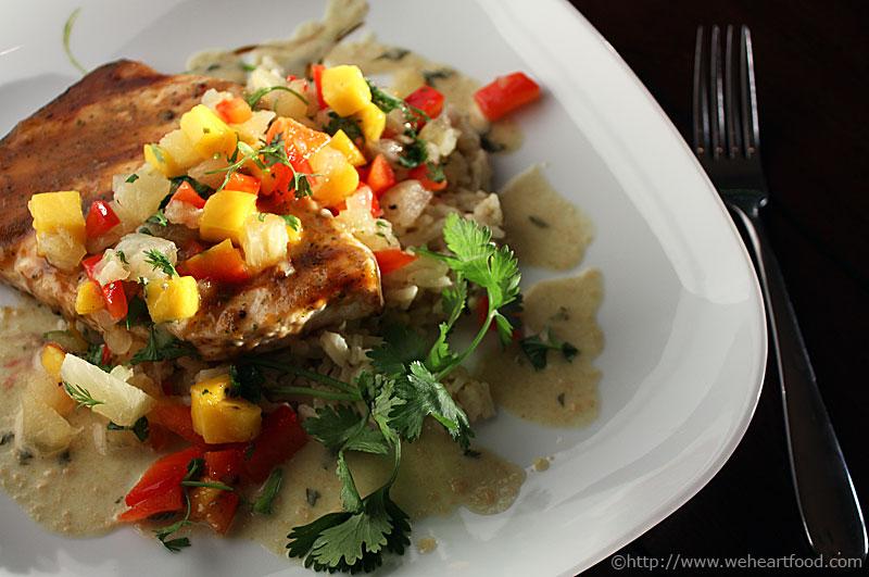 swordfish mango chutney