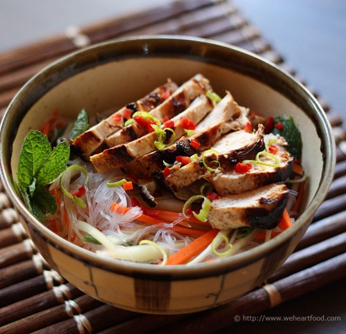 Vietnamese Lime & Mint Chicken