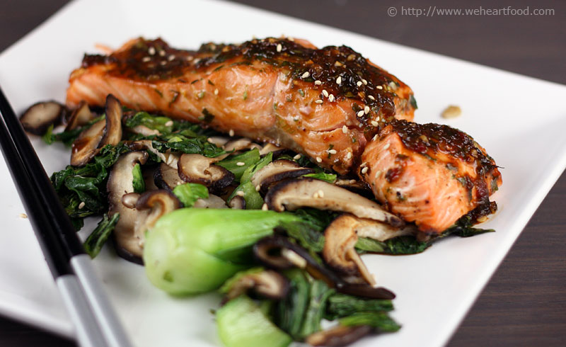 ... ginger glazed salmon honey soy glazed salmon ginger soy glazed salmon