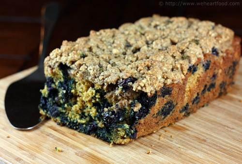 Maple Blueberry Coffee Cake » We [Heart] Food