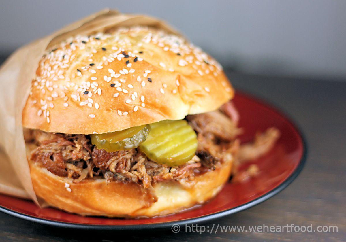 North Carolina Pulled Pork Sandwiches » We [Heart] Food