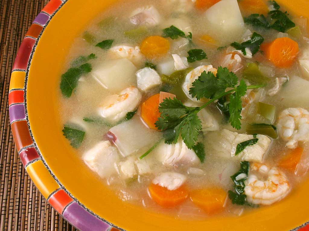 Halibut And Shellfish Soup Recipes — Dishmaps