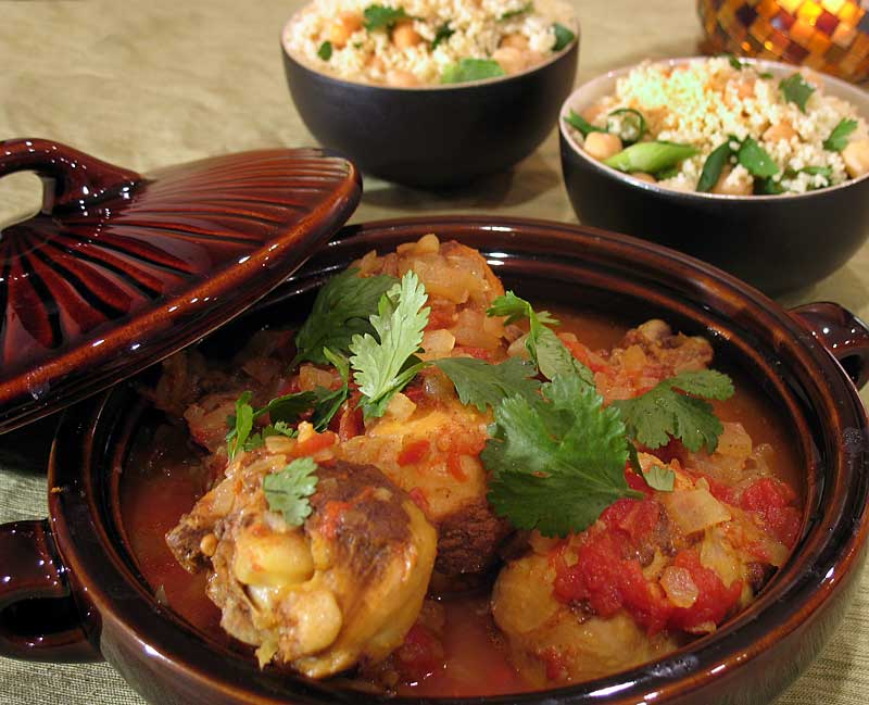 Moroccan Chicken and Couscous » We [Heart] Food