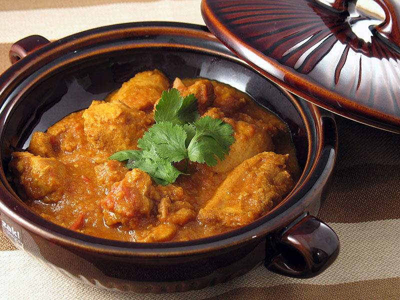 Burmese chicken curry we heart food a few nights ago i made this tasty curry recipe that i found on what you having for your tea a blog ive been following for quite a while forumfinder Choice Image