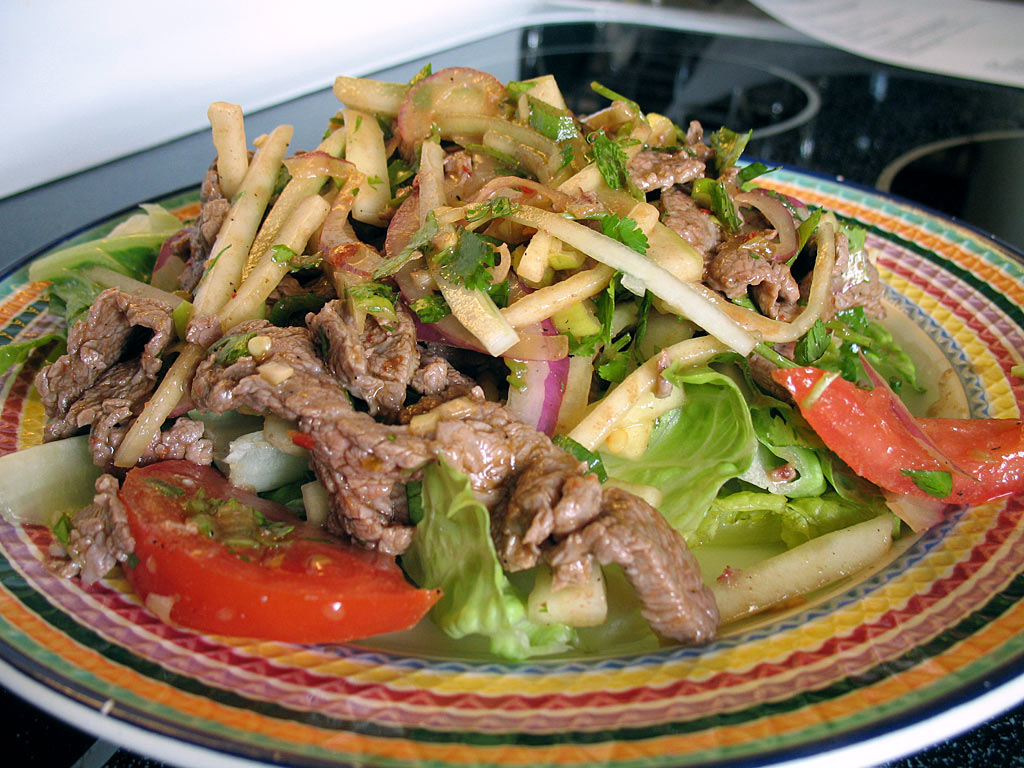 Spicy Thai Beef Salad Recipe - Food.com - 117121