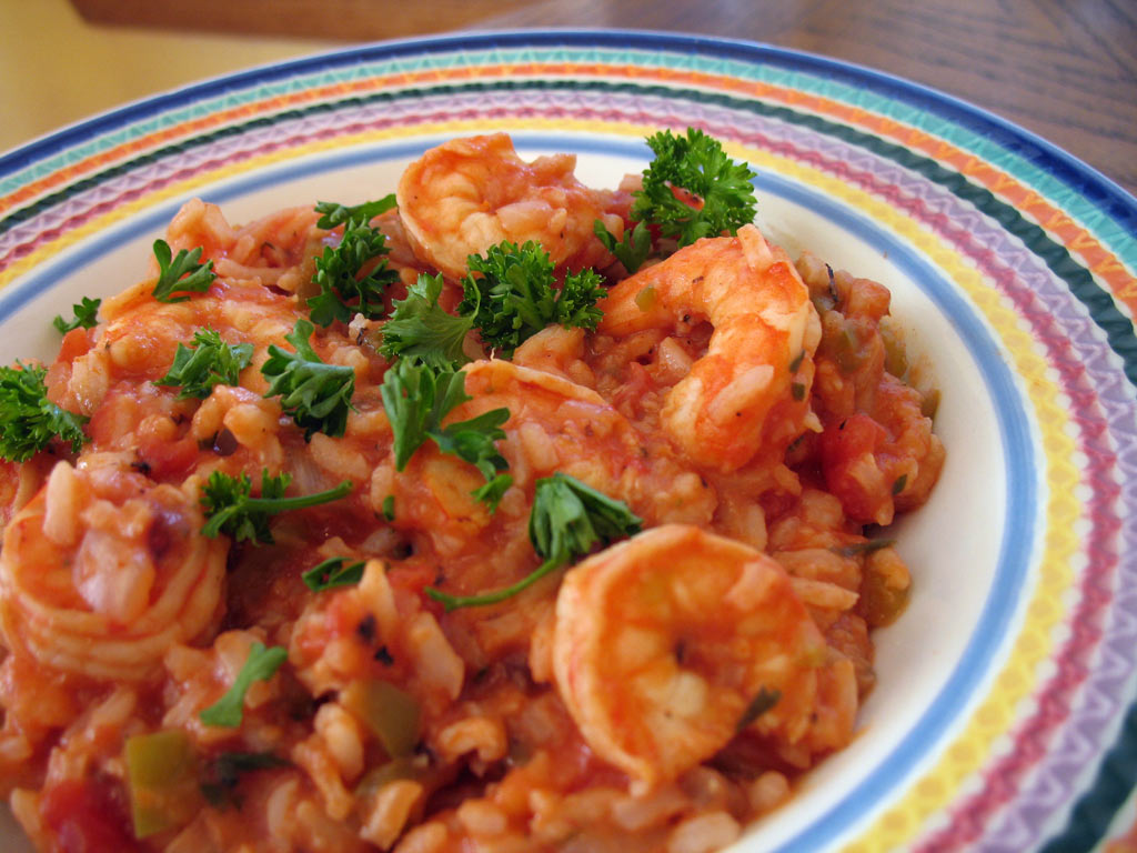 Shrimp Jambalaya Recipe | Food | Disney Family.com