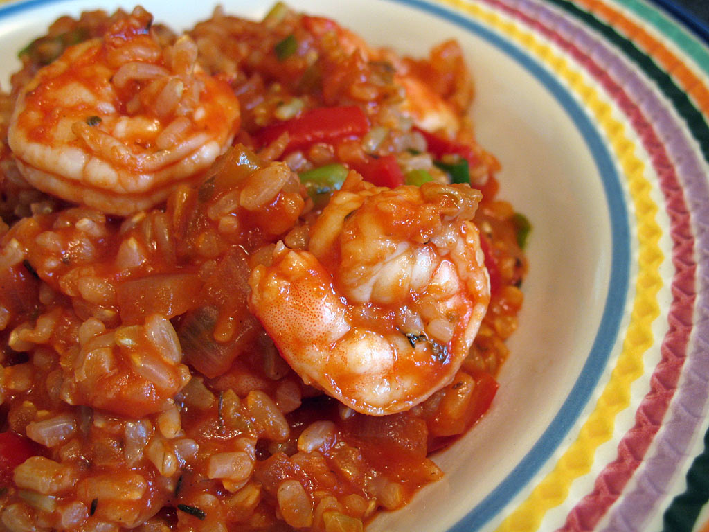 ... brown rice brown fried rice healthy brown rice bowl with shrimp
