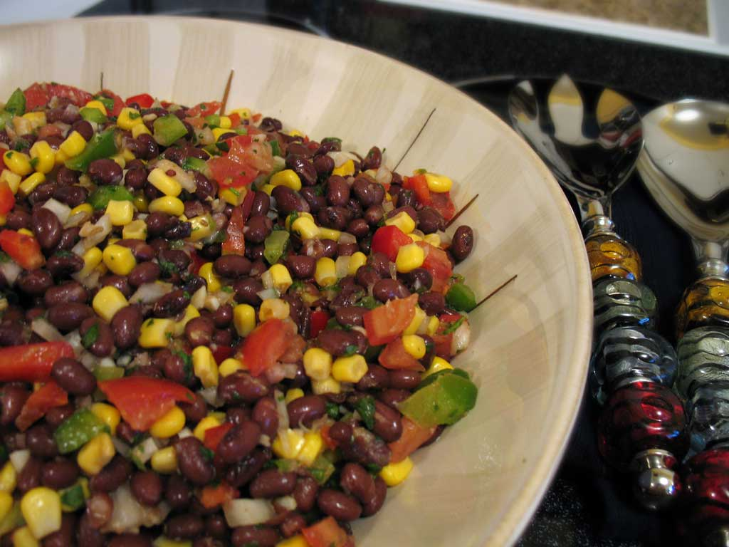 ... salad black bean corn and avocado salad southwestern black bean salad