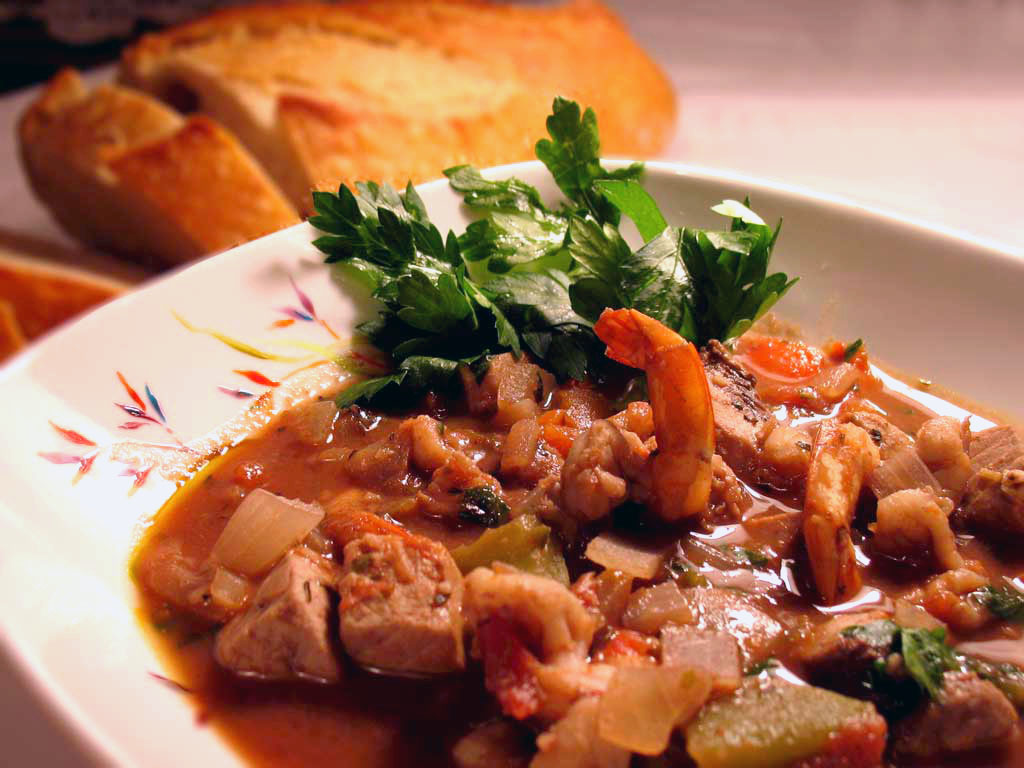 Mediterranean Swordfish Cioppino » We [Heart] Food