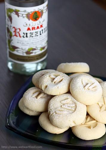 Arak Cookies