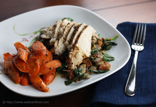 Lemon-Pepper Chicken and Carrots